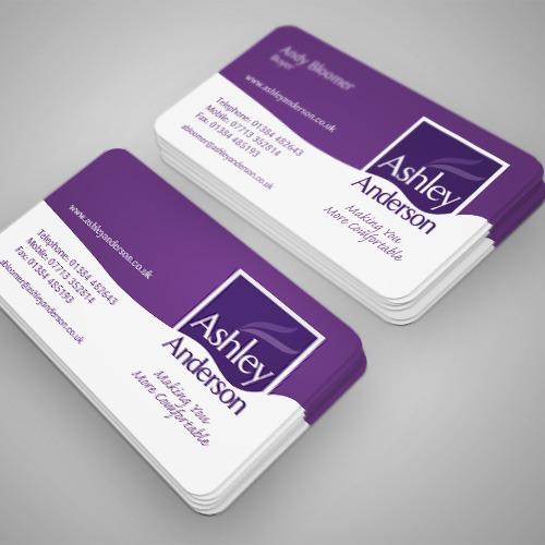 round corner business card printing