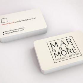 round corner business cards printing