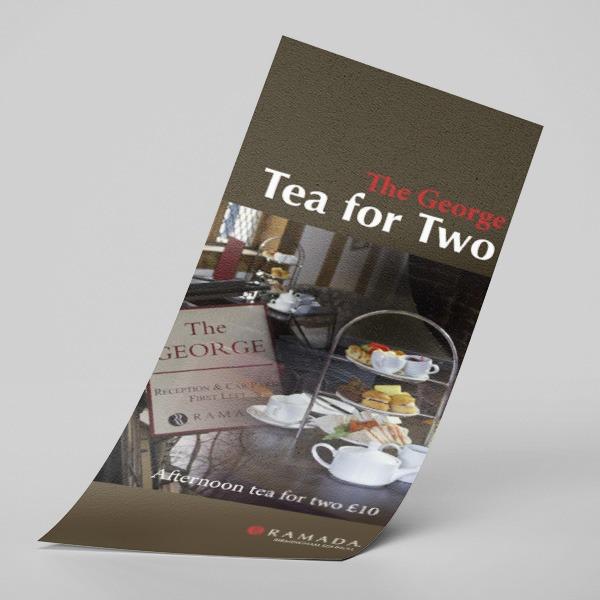 DL leaflets for restaurants and hotels